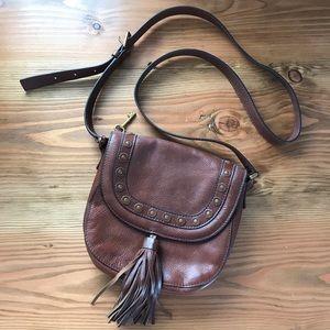 Fossil Emi Stud Saddle Bag